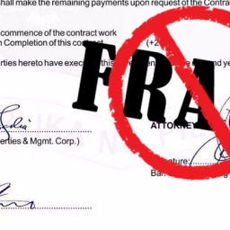Notice to the General Public on Fraudulent Service Agreements_