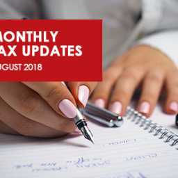 August 2018 - TaxUpdates