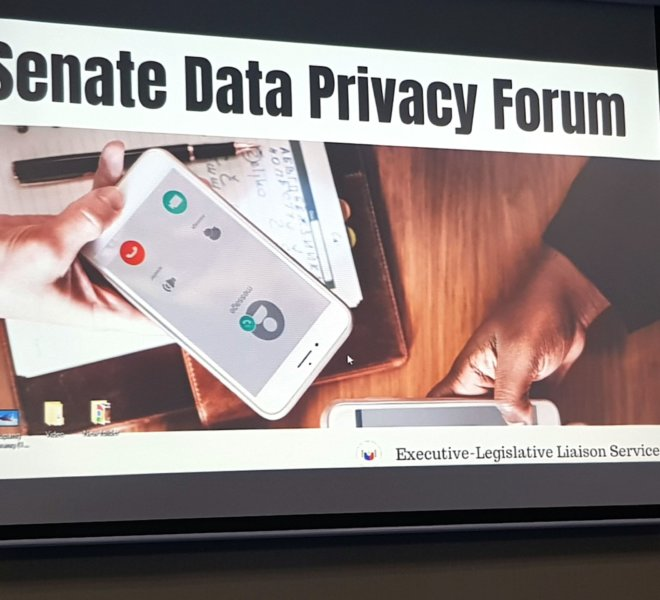 SENATE DATA PRIVACY FORUM 3 - Atty. Diana Bello-Castillo