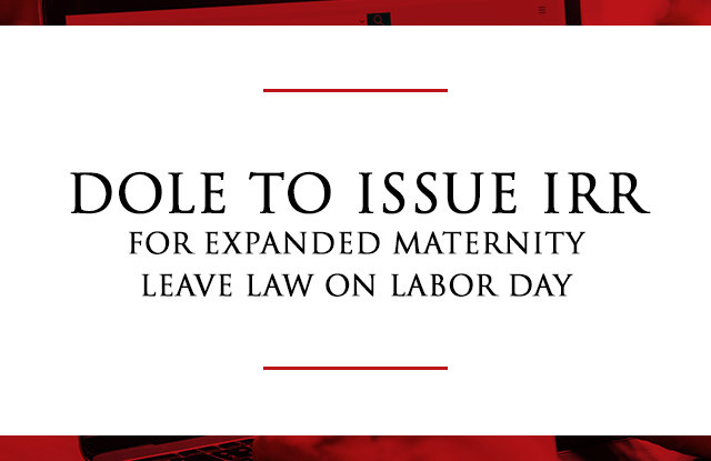 IRR Expanded Maternity Leave Law.opt