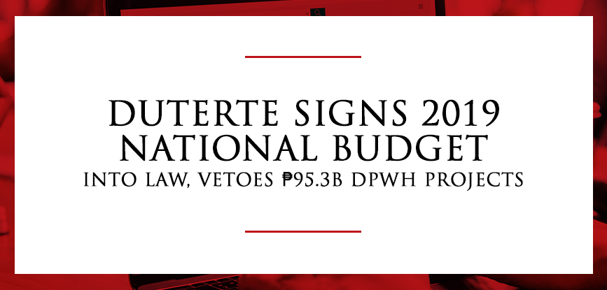 National Budget 2019