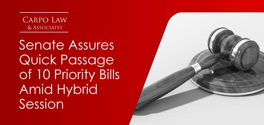 Senate 10 Priority Bills