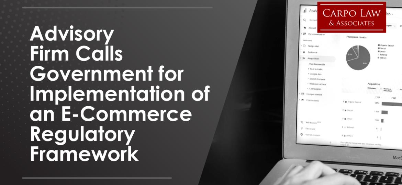 E-Commerce Regulatory Framework in the Philippines